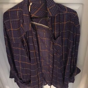 Plaid flannel from Free People